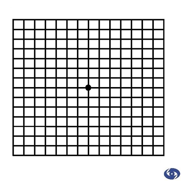 Тест на остроту зрения